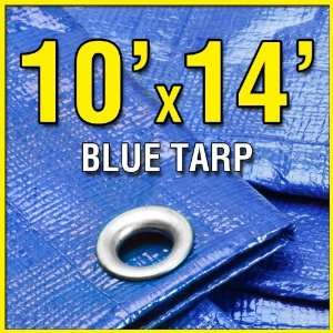 Camp Tarp 10x14 Tarpaulin for Camping Tent Shelter Shade Canopy etc