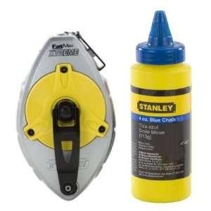 482 100 FatMax Xtreme Chalk Box with 4 oz. Bottle Stanley Blue Chalk