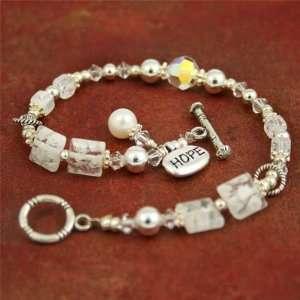 Multiple Sclerosis HOPE Bracelet   8 Stretch: Arts