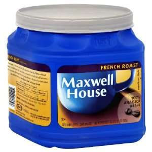 Maxwell House Coffee, French Roast, 33: Grocery & Gourmet Food