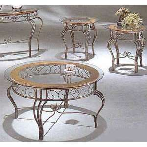 Media Occasional Coffee & End Table Set   Coaster Co. Home & Kitchen