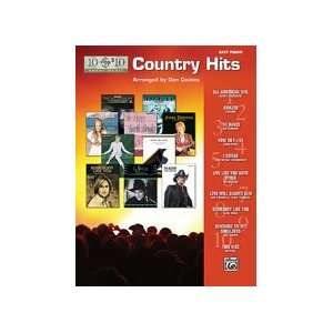 10 for 10 Sheet Music Country Hits   Easy Piano Musical