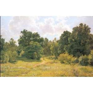 Ivan Shishkin   24 x 16 inches   Deciduous forest edge: Home & Kitchen
