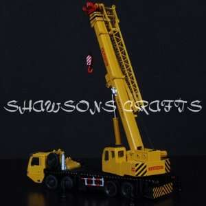 Diecast Metal 1/55 Giant Crane Truck Heavy Vehicle Model Replica