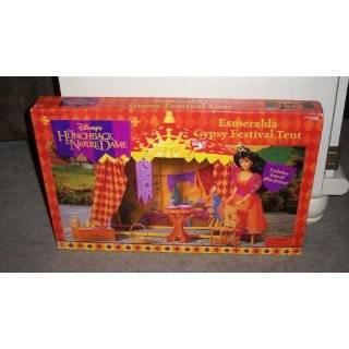 Disney Hunchback of Notre Dame Esmeralda Gypsy Festival Tent By Mattel