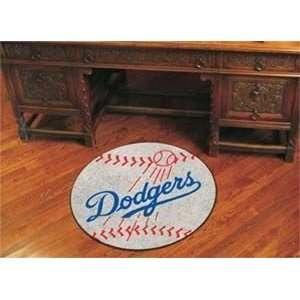 Los Angeles Dodgers Baseball Mat   22 X 35 Mats Sports