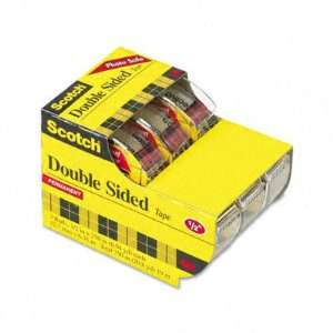 Scotch 665 Double Sided Office Tape in Hand Dispenser   1