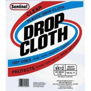 Clear Plastic Drop Cloths DC90202
