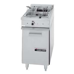 S18F Sentry Series Range Match 30 lb. Electric Floor Fryer   12 kW
