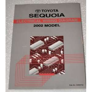 2002 Toyota Sequoia Electrical Wiring Diagrams (UCK35