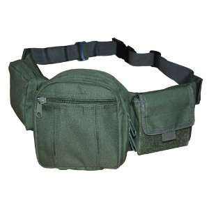 Green Deluxe Fanny Pack Tactical Gear