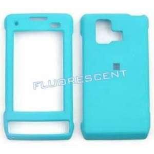 LG Dare vx9700 Fluorescent Solid light Blue Hard Case/Cover