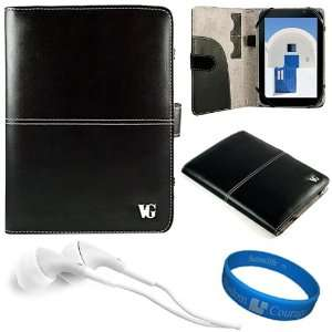 Black Executive Leather Protective Folio Carrying Case