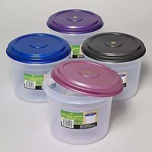 Plastic Food Storage Container 3 Qt Case Pack 72