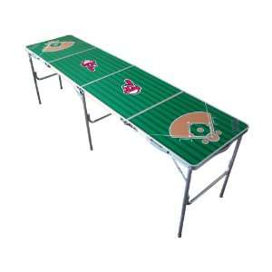 Cleveland Indians Tailgate Ping Pong Table With Net