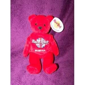 Hard Rock Cafe Rita Beara Memphis Collectible Bear Toys