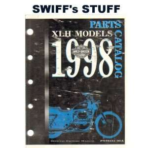 Harley Davidson 1998 XLH Models Parts Catalog Part Number
