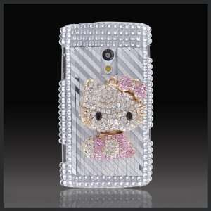 by CellXpressionsTM Hello Kitty Diamonds Silver bling case cover