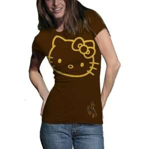 Cowboys Hello Kitty Inverse Junior Crew Tee Shirt