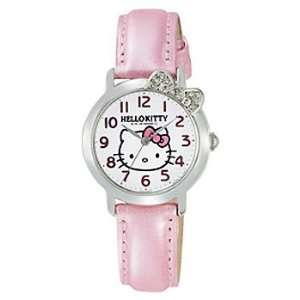 Hello Kitty Crystal Ribbon Watch (Pink) Toys & Games