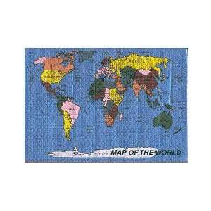 World Map Puzzle Toys & Games