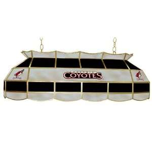 NHL Phoenix Coyotes Stained Glass 40 inch Lighting Fixture