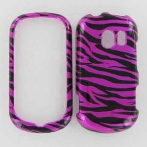 LG VN271 extravert Zebra on Hot Pink Protective Case Cell