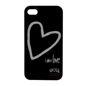 iPhone 4 & 4S Anti Slip Rubber Coated Protective Skin Hard Case Cover