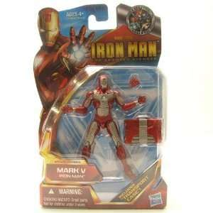 Iron Man 2 Movie 4 Inch Action Figure Iron Man Mark V New