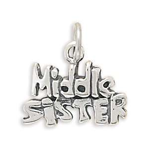 Middle Sister Charm Jewelry