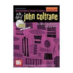 the Style of John Coltrane, Bass Clef Edition Book/CD Set: Electronics