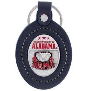 Alabama Crimson Tide Leather Key Chain   NCAA College