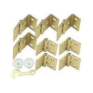 National #N269 860 Brass Shutter Hinge Kit