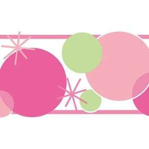 Polka Dot Delight Border (Pink)