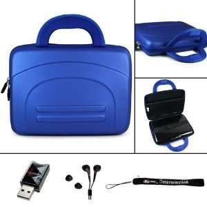 Eva Blue Hard Nylon Shell Case for Acer Aspire One AO532h