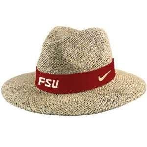 Nike Florida State Seminoles (FSU) Straw Hat