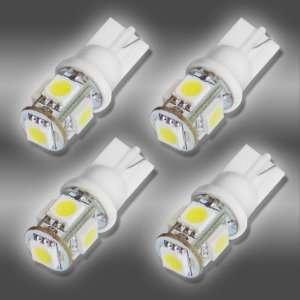 4x 194 168 5 SMD White High Power LED Car Lights Bulb Automotive
