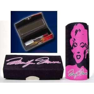 Pink Marilyn Monroe Lipstick Case Beauty