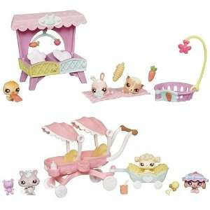 Littlest Pet Shop Theme Pack Babies Wave 1 Set Toys & Games