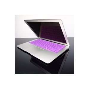 TopCase PURPLE Keyboard Silicone Cover Skin for Macbook