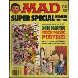 Mad Magazine Super Special #25 (Twenty five): Alfred E