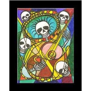 Mariachi de los Muertos Music of the Dead Home Decor Wall