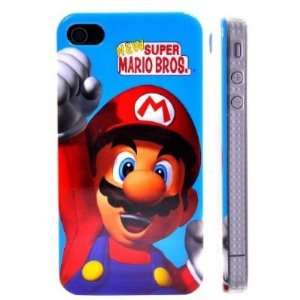 Super Mario Pattern Hard Case Covers for iPhone 4 4G