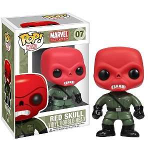 Red Skull Pop! Heroes   Marvel Universe   Vinyl Figure : Toys & Games