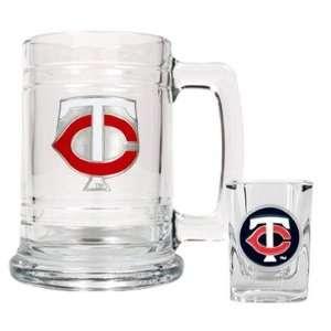 MLB Minnesota Twins Boilermaker Set