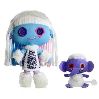 Monster High Friends Plush Frankie Stein Doll  Toys & Games