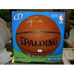 PAUL GASOL SIGNED NBA REPLICA BALL COMES WITH COA LAKERS
