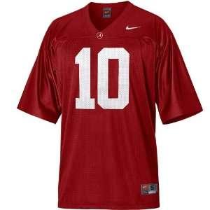 Nike Alabama Crimson Tide #10 Replica Football Jersey