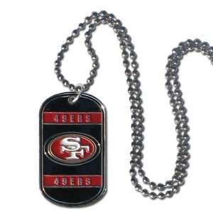 San Francisco 49Ers   NFL Dog Tag Chain Necklace Sports