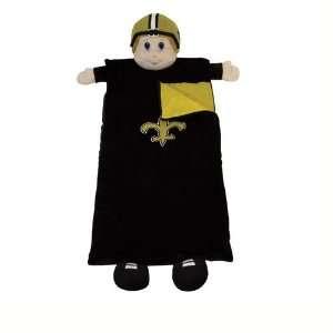 New Orleans Saints Nfl Plush Team Mascot Sleeping Bag (72